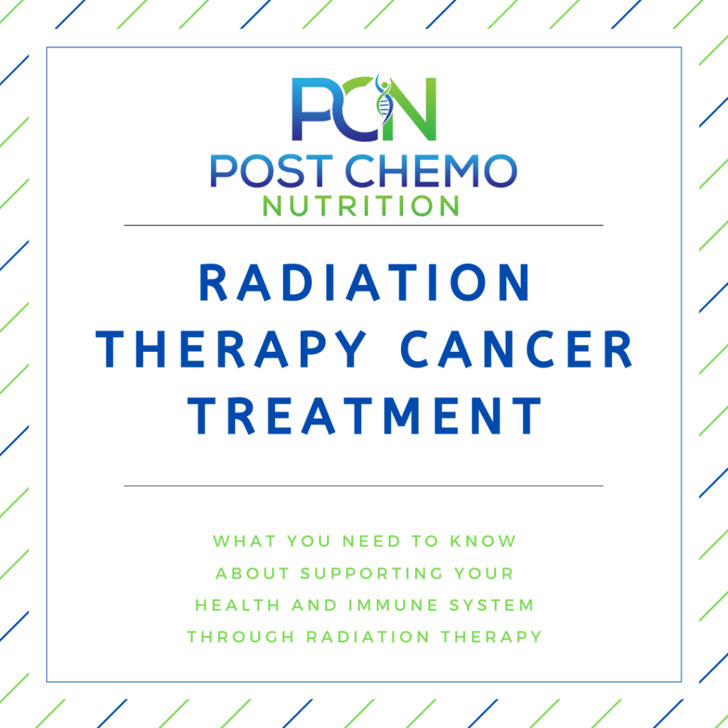Radiation Therapy Cancer Treatment Infographic